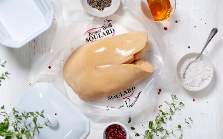 Foie gras de canard en terrine Ernest Soulard