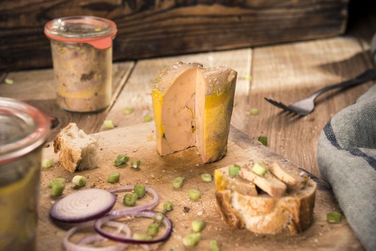Foie gras de canard cuit