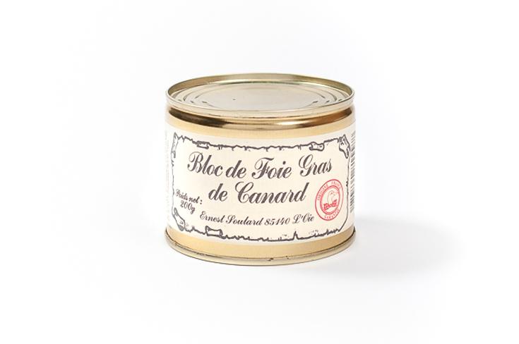 Bloc de foie gras de canard sans morceaux