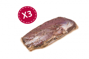 Filets de canard au piment d'Espelette x3