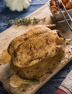 Canard entier prêt à cuire Bio à déguster