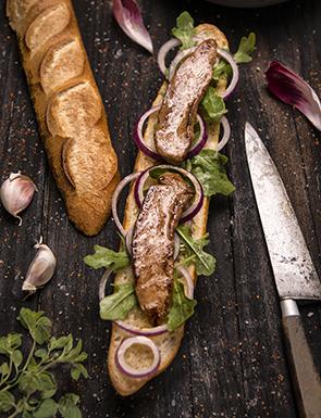 Aiguillettes de canard au piment d'Espelette à déguster